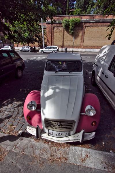 По улиците се срещаха интересни возила :)