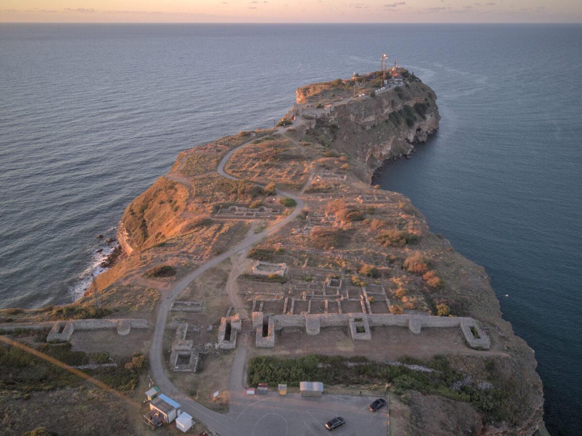 Нос Калиакра – крепост Тириса
